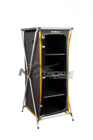 Oztrail 4 Shelf Deluxe Cupboard (D)