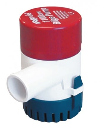 Rule Non-Automatic Submersible Bilge Pump - Round