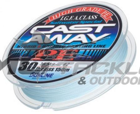 Sunline Cast Away PE Braid - Pearl Blue
