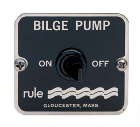 Rule Bilge On / Off Panel Switch
