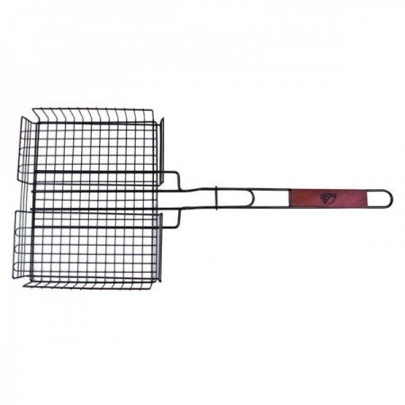 Campfire Deep Grill Basket With Handle