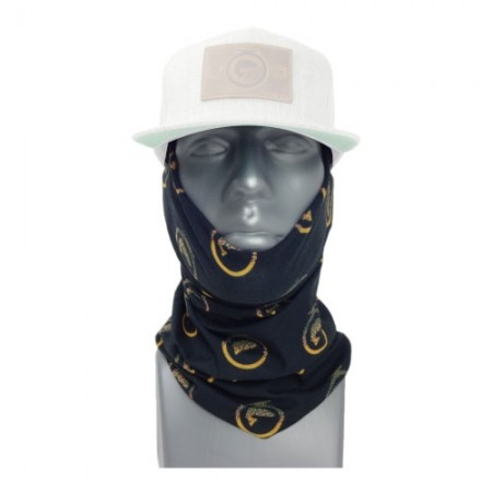 Brown Trout Reel Photo Face Mask and Neck Gaiter Bandana by Hoo-rag