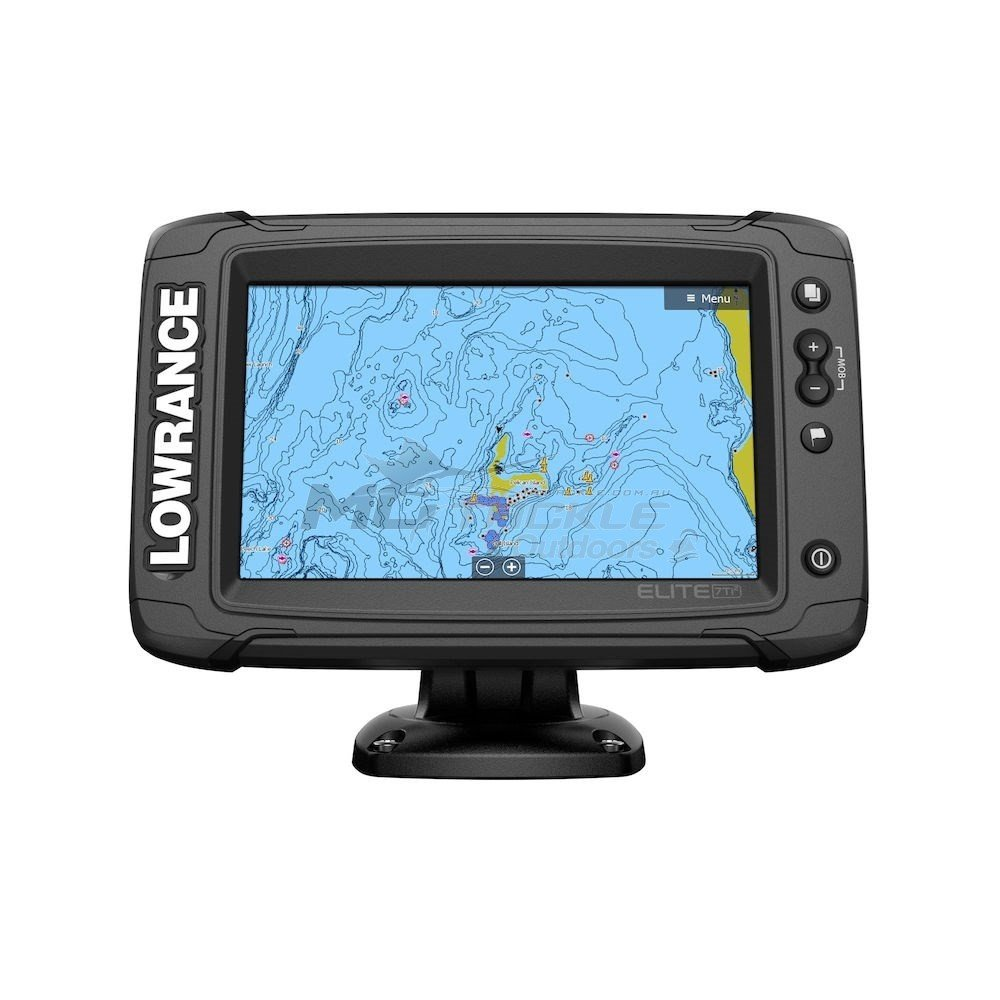Lowrance Elite 7 Ti2 - Active Imaging Transducer + Preloaded C-Map