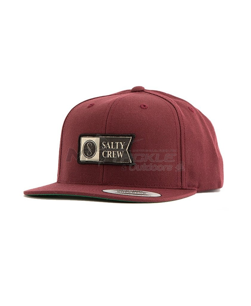 7e1a5fa631193 Salty Crew Alpha Stamped 6 Panel Hat
