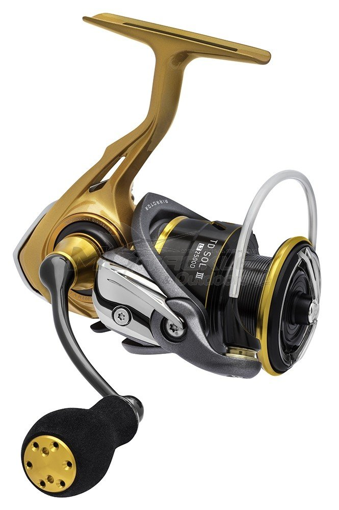 Daiwa TD Sol III LT Spin Reel on