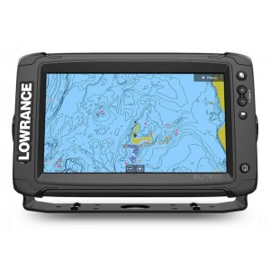Lowrance Elite 9 Ti2 - Active Imaging Transducer + Preloaded C-Map