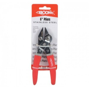 Boone 6in Stainless Steel Pliers
