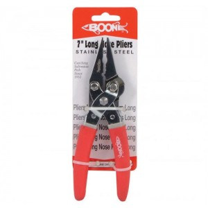 Boone 7in Long Nose Stainless Steel Pliers