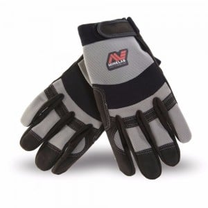 Minelab Gloves Grey