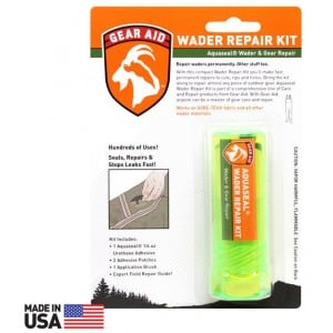 McNett Gear Aid Aquaseal Wader Repair Kit w/ Patches