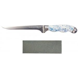 Mustad Ocean Crystal 6in Titanium Coated Fillet Knife - Reverse Auction