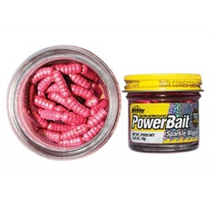 Berkley Powerbait Sparkle Wigglers - Pink/Scales