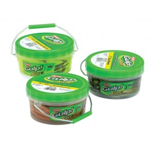 Berkley Gulp Alive Tub - Shrimp 2in Assorted Colours 450g