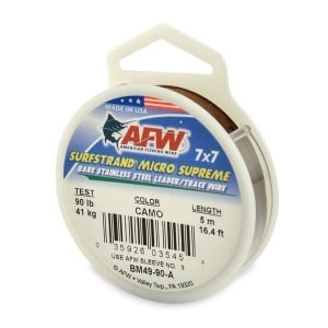 AFW Surfstrand Mirco Supreme Stainless Steel Leader - 5m