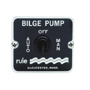 Rule Bilge Off / Auto / Man Panel Switch