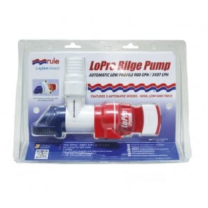 Rule Non-Automatic LoPro Bilge Pump - 900 GPH