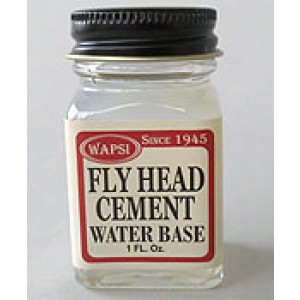 Wapsi Fly Head Cement - Water Base