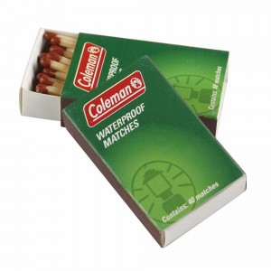 Coleman Waterproof Matches (4 Pack)