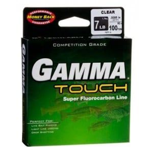 Gamma Touch Fluorocarbon Line - 100yds