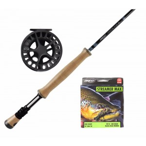 AirFlow Coastal 9ft 10wt / Lamson Liquid 4 Combo