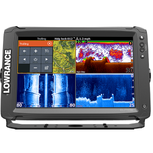 Lowrance Elite 12Ti with Mid/High TotalScan Transducer and CMap AUS/NZ