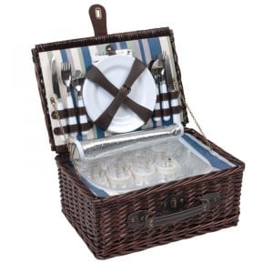 Companion 4 Person Wicker Picnic Set
