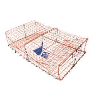 Wilson Crab Trap - Large Galvanised 34in x 22in x 12in