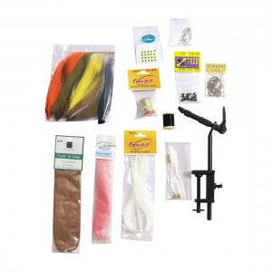 EJ Todd Saltwater Fly Tying Kit