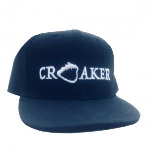 Croaker Lures Snapback Cap - Black