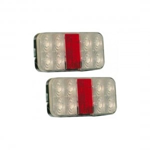 Axis LED Slimline Trailer Lights