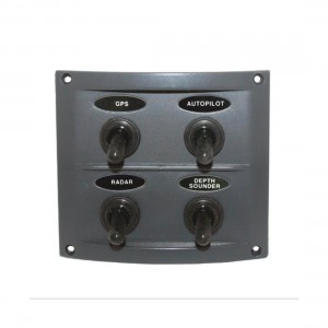 RWB Marine 4 Switch Panel - Splashproof