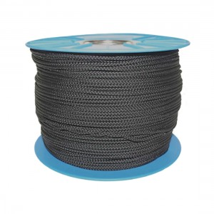 RWB Marine Dingy Line 8P Polypropylene 5mm - Black