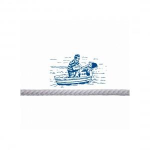 RWB Marine Motor Start Cord - Nylon 5mm - White