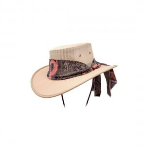 Barmah Ladies Canvas Drover Hat