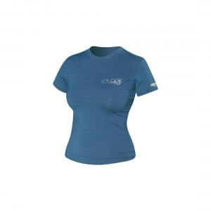 C-Skins Womens Short Sleeve Surf Tee Crew Neck