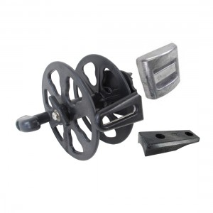 Spearmaster Black Belt Reel w/ Weight