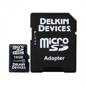 Delkin Pro Micro SD 16GB Memory Card