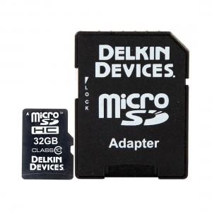 Delkin Pro Micro SD 32GB Memory Card