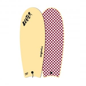 Catch Surf Beater 54in Original Finless Series 1 Surfboard