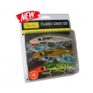 Classic 120mm +3 Barra Ghost Series - 3 Pack