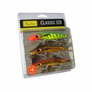 Classic 120mm +3 Shallow Barra Pack - 3 Pack