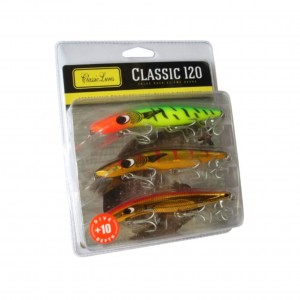 Classic 120mm +10 Barra Pack - 3 Pack