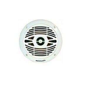Azimuth 2 Way Speakers - Flush Mount Waterproof 100mm - 50W