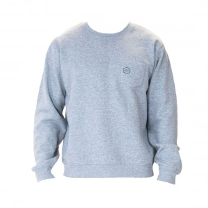 Carve Tracks Mens Crew Neck Sweater