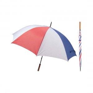 Shelta 30in Double Rib Wood Handle Golf Umbrella