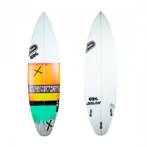Dylan Surfboards Mexican - FCS2 Fins