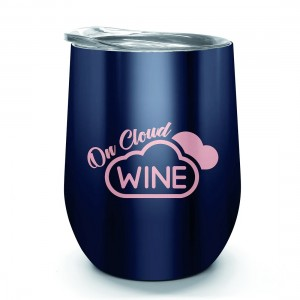 Oztrail Double Wall Stainless Tumbler - Cloud Wine