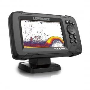 Hook Reveal 5 Fishfinder - GPS / SplitShot HDI Transducer