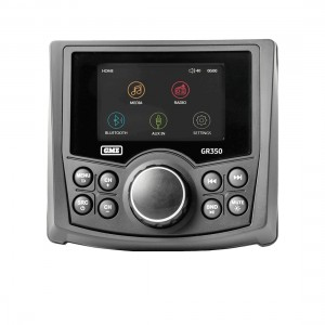 GME GR350BT AM/FM Compact Marine Stereo