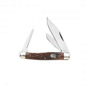 Fury Mustang 2 Blade Folding Knife With Hole Punch